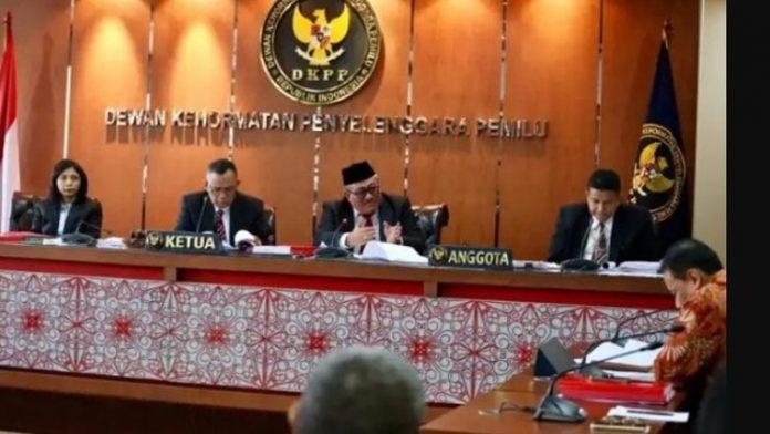 Sidang DKPP terkait Pilkada Alor, Rabu (3/7/2019) di Jakarta. (Sumber: website dkpp.go.id).