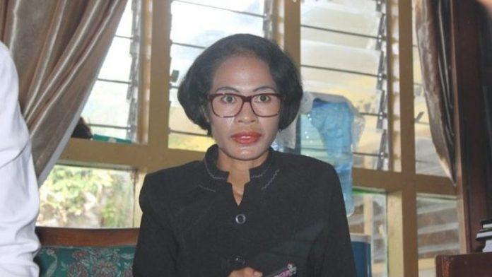 Ketua KPU Alor Maria Goreti Padu Keray, SE.,M.Ec.Dev.
