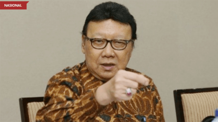Menteri Dalam Negeri Tjahjo Kumolo. (Sumber: wowkeren.com)