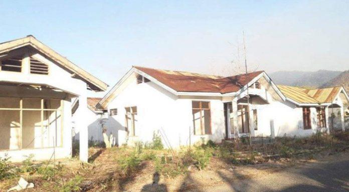 Rumah Dinas Anggota DPRD Alor yang kini mubasir