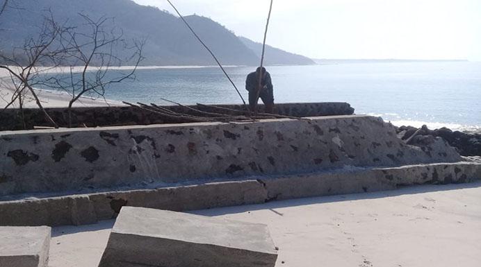 Foto Proyek Pantai Ling'al