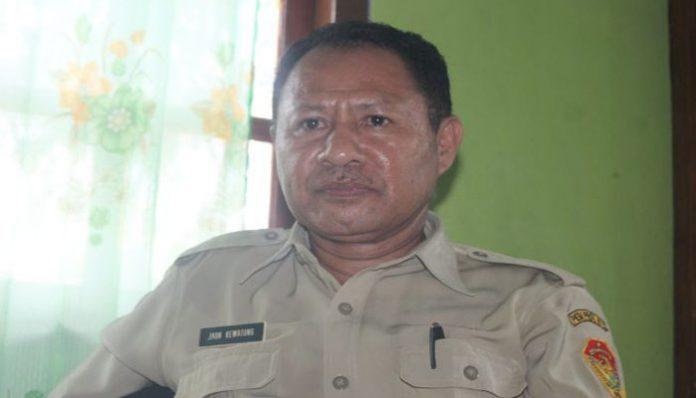 Kepala UPT Kehutanan NTT Wilayah Alor, Yohanes Kewatung, S.Hut