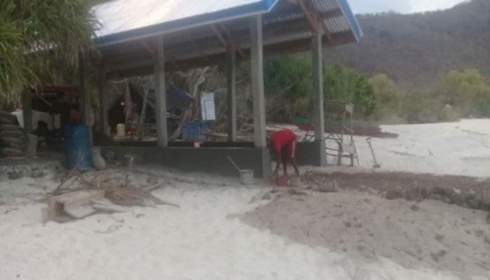 Proyek Tambatan Perahu di Ling'al yang dikerjakan lanjut oleh CV Yanlib