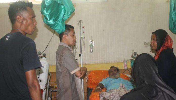 Ketua, Sekretaris dan Anggota Fraksi Persatuan Nurani Kunker di RSUD Kalabahi, Kamis (9/1), pagi.