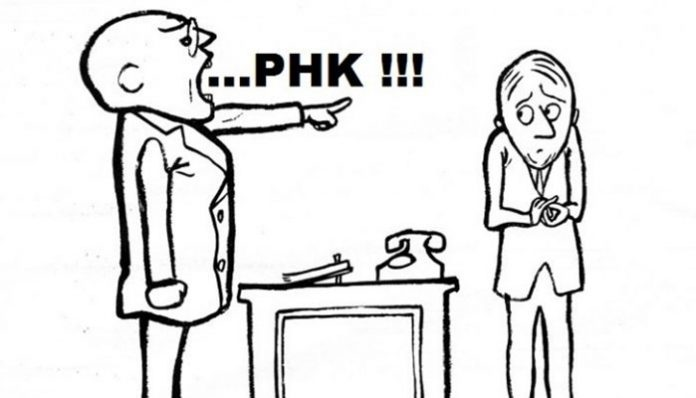 Ilustrasi PHK. (Sumber: buruhonline.com)