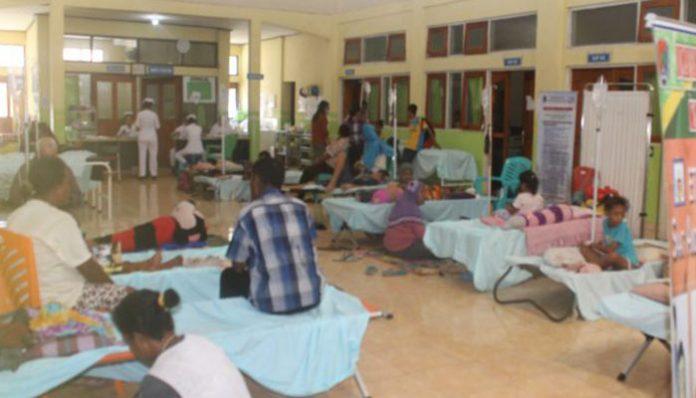 Pasien DBD yang dirawat di ruangan VIP RSUD Kalabahi