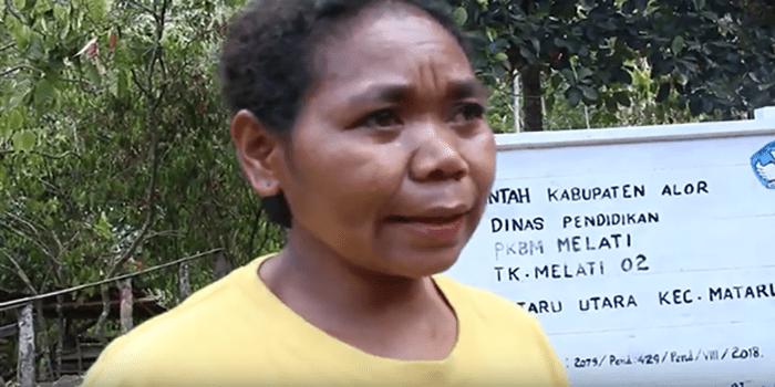 Perempuan Di Alor Ini Buka Sd Tanpa Biaya Tribuana Pos