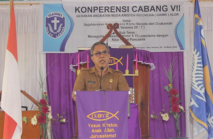 Mantan Ketua GAMKI Alor Periode 2001-2003, Alberth N. Ouwpoly, M.Si