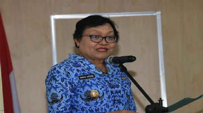 Wakil Bupati Mabar Drh. Maria Geong, Ph.D. (Foto: padarnews.com).