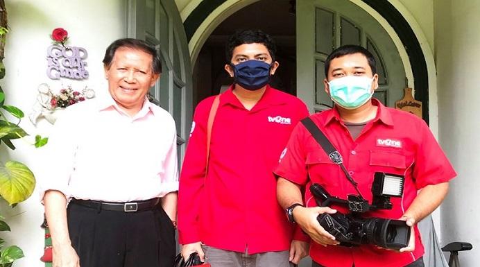 Dr. Hendrawan Nadesul (ujung kiri). (Foto: dok dokter Herawan).