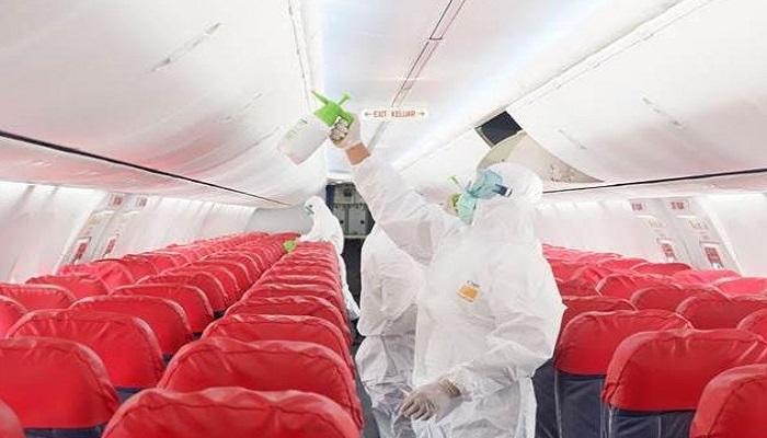 Ilustrasi Pesawat beroperasi di tengah pandemi covid-19