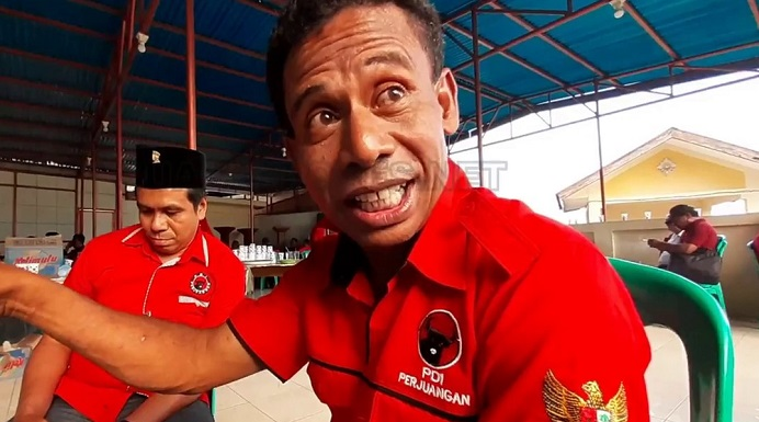 Wakil Ketua DPD PDIP NTT Bidang Pembangunan Manusia dan Kebudayaan, Gusty Beribe.