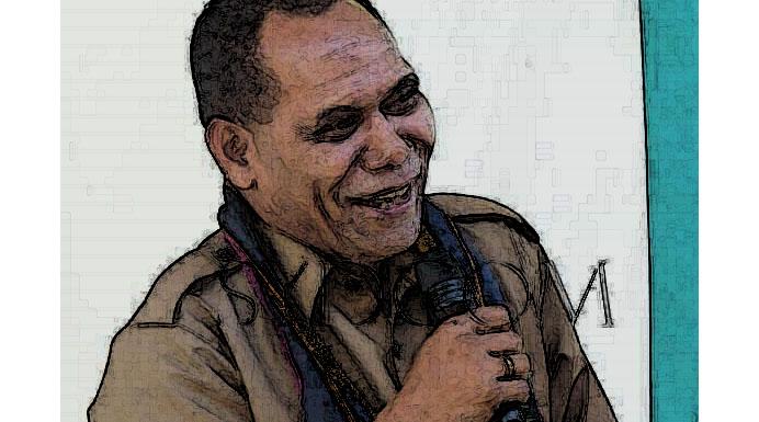 Bupati Alor Drs. Amon Djobo (Foto: Sydcom).