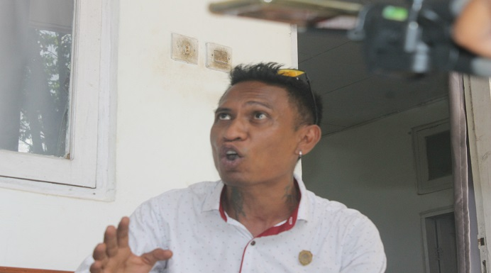 Ketua Komisi I DPRD Alor, Dony M. Mooy.