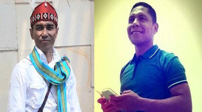Machris Mau, SP (kiri) dan Abdulah Apah