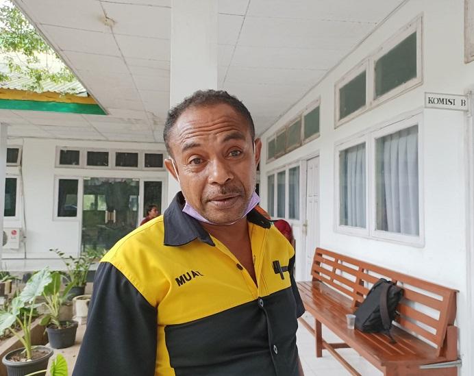 Kepala Dinas Perdagangan Kabupaten Alor Muaz Abdulrahman Kamis, S.Sos.