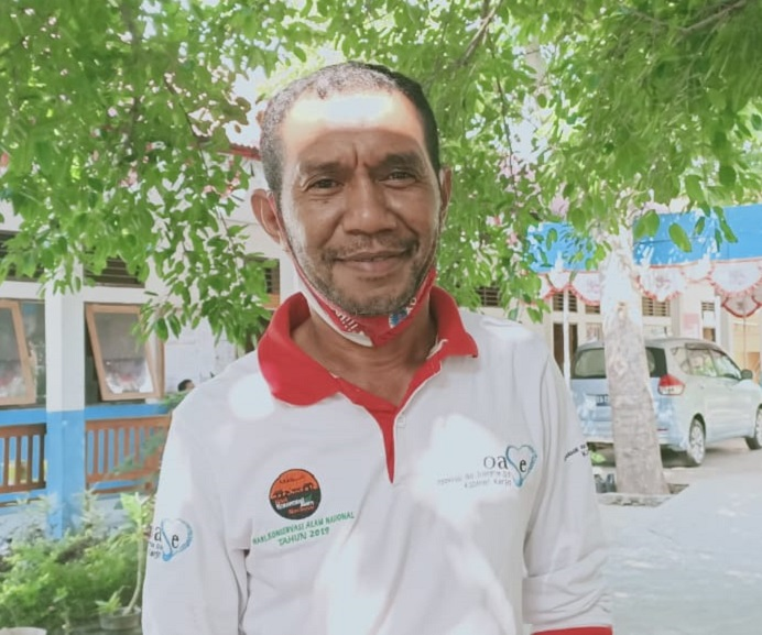 Ketua Panitia Seminar Nasional FE Untrib, Ferdinand Anigomang, SE.,MM