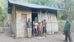 Kondisi Rumah Oma Sufia Tang di Desa Alila Timur Kecamatan Kabola, Kabupaten Alor, NTT