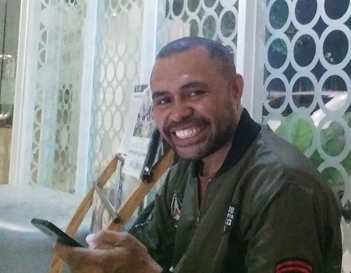 Ketua Panitia PMB Untrib Tahun 2020, Gerson Hans Maure, SP.,M.Si