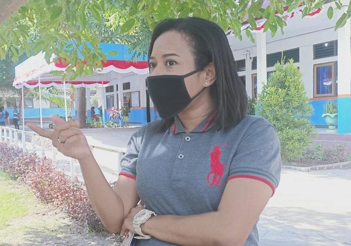 Dosen Hukum Pidana Fakultas Hukum Universitas Tribuana (Untrib) Kalabahi, Christine Laure, SH.,MH
