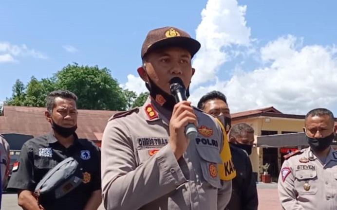Kapolres Alor AKBP Agustinus Chrismas Tri Suryanto, S.IK.