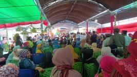 Suasana acara pembukaan Festival Al-Qur'an Tua di Alor Besar, Kamis (30/7).