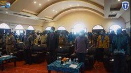 Suasana acara pembukaan Kongres GMKI XXXVII di Hotel Aston Niu Kota Injil Monokwari Papua Barat, Selasa (24/11) siang.