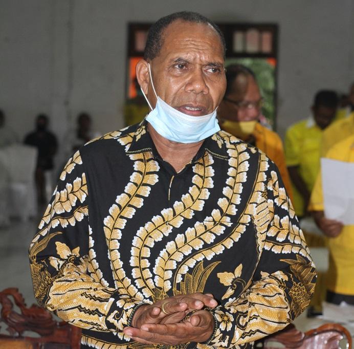Bupati Alor Drs. Amon Djobo. (Foto: doc tribuanapos.net/Leader Ismail).
