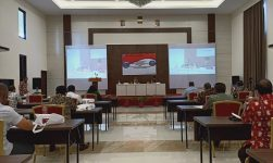BPNN RI sementara kegiatan fokus group discussion (FGD) peninjauan kembali Peraturan Presiden Nomor 179 Tahun 2014, Jumat (27/11) di Hotel Shimfoni Kalabahi Kota, Alor.