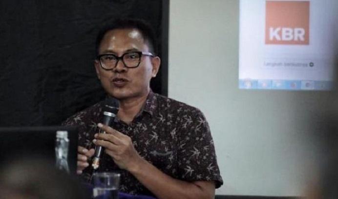 Ketua Umum AJI Indonesia Abdul Manan. (Foto: zonasultra.com)