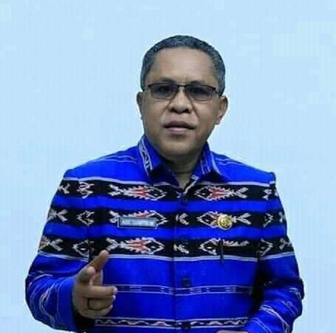 Kadis Pendidikan Kabupaten Alor, Alberth N. Ouwpoly, S.Pd, M.Si