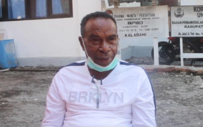 Ketua Satgas Covid-19 Kabupaten Alor, Sony O. Alelang.