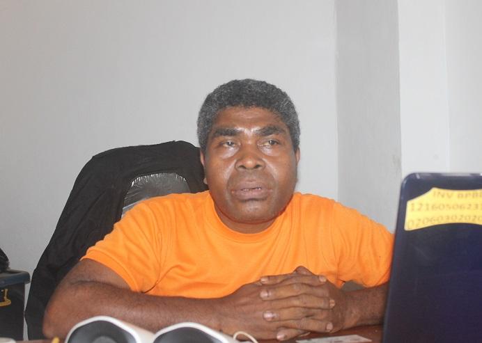 Kepala Bidang Darurat dan Logistik BPBD Alor, NTT, Vian Kamaukari.