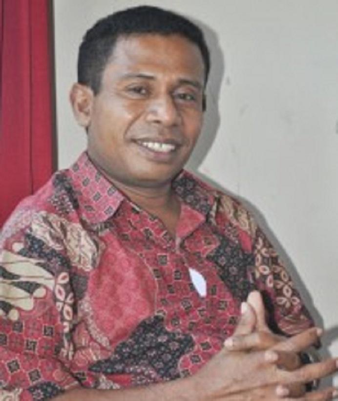 Wakil Ketua DPD PDIP NTT Bidang Pembangunan Manusia dan Kebudayaan, Gusty Beribe. (Sumber Foto: Pos Kupang).