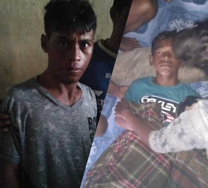 Dua Nelayan Buton, Gani dan Vino ditemukan terdampar di pulau Alor pada Sabtu (3/4) akibat mesin kapal yang mereka tumpangi rusak di tengah laut. Keduanya kini dirawat di Desa Pulau Buaya Alor, NTT.