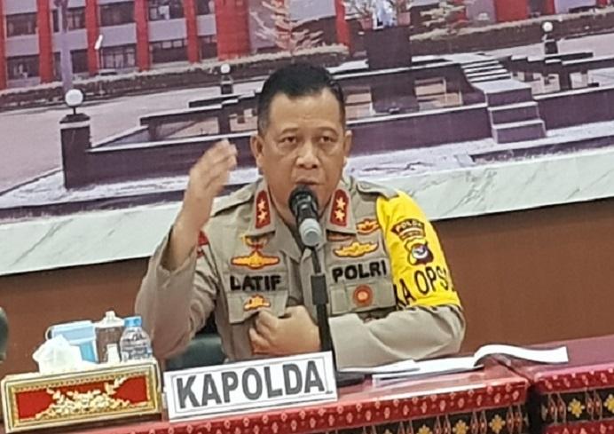 Kapolda NTT, Irjen Lotharia Latif (Foto: Gatra.com).